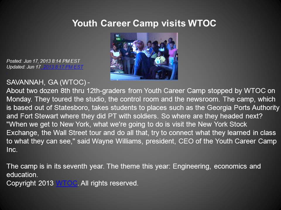 YCCI In The News
